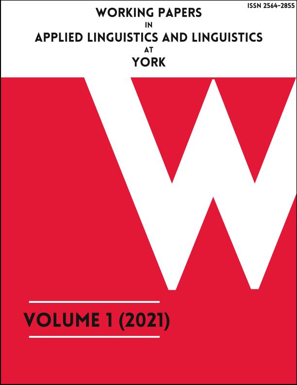 View Vol. 1 (2021)